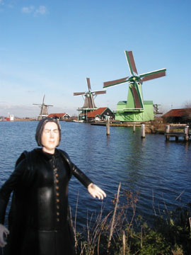 Snape in Amsterdam by Skarlett